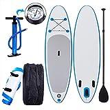 Die besten Paddle Boards für Anfänger - Coorun Stand up Paddle Set SUP Board, 110KG Bewertungen