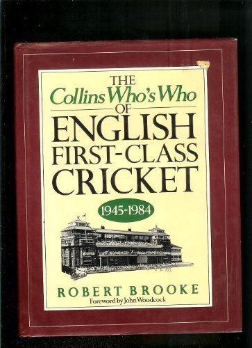Who's Who of English First Class Cricket, 1945-84