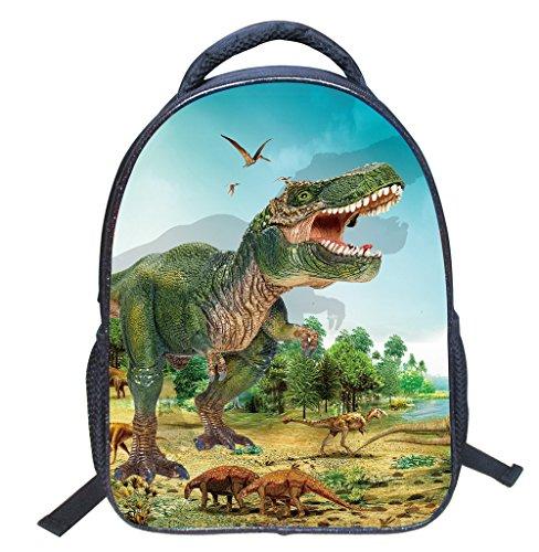 Sac à dos 3D Print Sacs d'école garçons filles multi-fonction Cartable Dinosaure Plein de stockage,Collège Voyages sac-Adapté à l'école, aux voyages,à l'extérieur-DoGeek (petit, dinosaure 6)