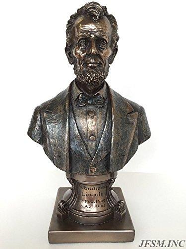 Lee Büste (Präsident Abraham Lincoln Büste auf Sockel Statue Skulptur)
