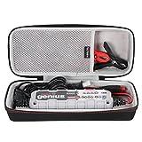 LTGEM EVA Hart Hülle Reise Tragen Tasche Case Kompatibel mit NOCO Genius G3500 6V/12V 3.5 Amp UltraSafe Smart Battery Charger