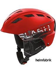 Skihelm Cratoni Slash-TS red-black matt
