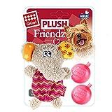 Mini Strick Plüsch Hund Spielzeug mit stuffing-free Quietscher für kleine Hunde elefant