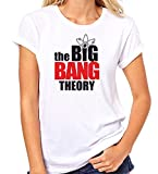 Crazy Sutra Premium Dry-FIT Polyester Unisex Half Sleeve Casual Printed Big Bang Theory Printed Tshirt (T-TheBigBTheory_M_W)