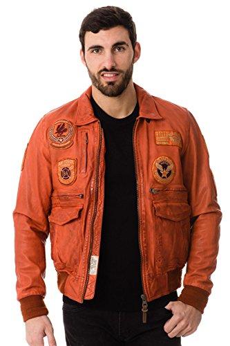 Redskins Hawk Liverpool, Blouson Homme Orange