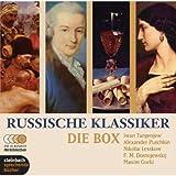 Russische Klassiker - Die Box. 5 Novellen und Erz?hlungen. 10 CDs