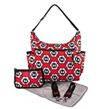 Disney Minnie Mouse Diaper Bag - 5-in-1 Diaper Tote - Minnie Mouse - Red