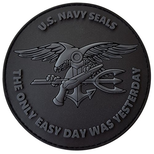 all-black-acu-us-navy-seals-the-only-easy-day-was-yesterday-devgru-subdued-morale-pvc-fastener-patch