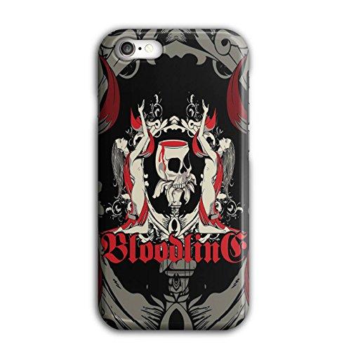 Blut Tod Horror Schädel Vampir Dame iPhone 8 Hülle | (Und Sachen Blut Zubehör Vampir)