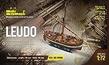 MINI MAMOLI - Modello kit barca IL LEUDO serie Mini Mamoli scala 1:72 - DUS_MM65