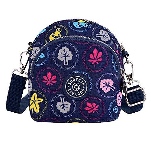 LSAltd Damenmode Nylon wasserdichte Schulter Messenger Crossbody Taschen Brust Paket