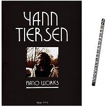 Yann Tiersen Piano Works 1994–2003/morceaux pour Piano Solo (Difficulté moyenne en le film Le Fabuleux destin d'Amélie–Note livre avec crayons de Piano