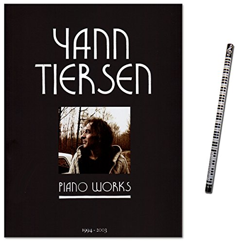 Yann Tiersen Piano Works 1994-2003 / Pieces for Piano Solo Medium Difficulty from the Film The Fabulous World of Amélie - Music Book with Piano Pencil