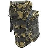 Im Freien Sport Tactical Gear Nylon Molle Zipper Camo große Flasche Wasser Tasche Wasserkocher Pack w / Dienstprogramm Medic kleine Durcheinander Pouch
