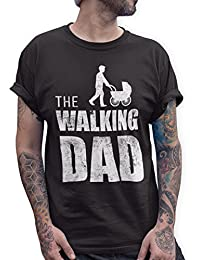 0169e0a57270 Shirtracer The Walking Dad Herren T-Shirt Vatertag Geburtstag Geschenk