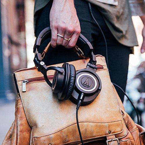 Audio Technica ATH-M50x DJ-Kopfhörer für Studio - 15
