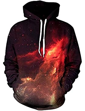 Imbry Jungen Galaxis STAR digitaldruck Kapuzenpullover Tops Fashion Hoodie 3D Druck Sweatshirt Pullover