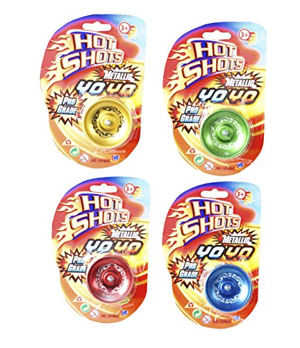 Hot Shots Metallic Yo-Yo verschiedene - Metallic-yoyo