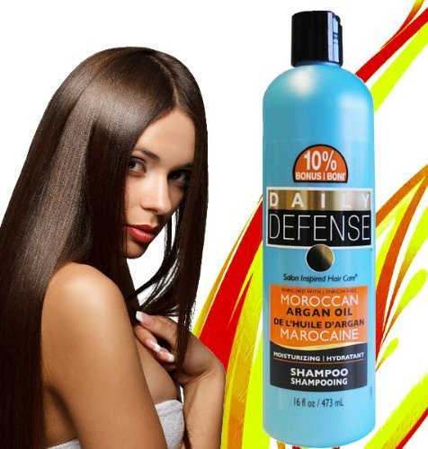 Daily Defense Argan Oil Shampoo from Morocco (1 16oz bottle) by DAILY DEFENSE