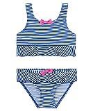 Sanetta Mädchen Bikini 430364, Blau (Ultramarine 5842), 128