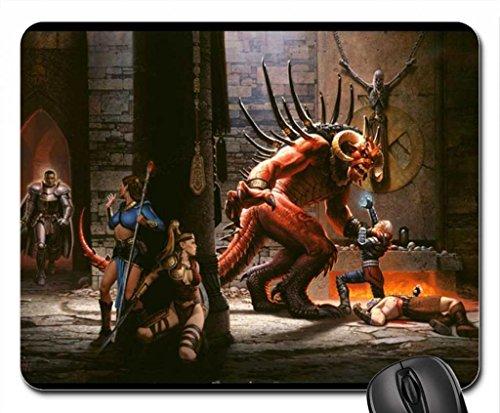 Diablo 2letzten Ständer Maus Pad, Mauspad (25,9x 21,1x 0,3cm)
