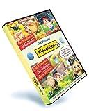 Die Welt der Kieselsteiner, 1 CD-ROM Das Kreativstudio. 50 Malvorlagen. Großer Bastelkurs. Das Traumspiel. Musik und Video. Für Windows 98 SE/2000/2003/XP