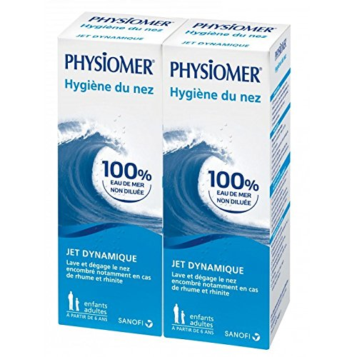 Physiomer Nasal Hygiene Dynamic Jet 2 x 135ml (X-rating)