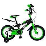 star kids 'Vélo pour enfant 122freins Flash Line Vert fluo