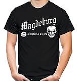 Magdeburg kämpfen & siegen T-Shirt   Fussball   Ultras   M1 (XL)