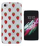 c1113 - Cool Red Strawberries Wallpaper Wimbledon Summer