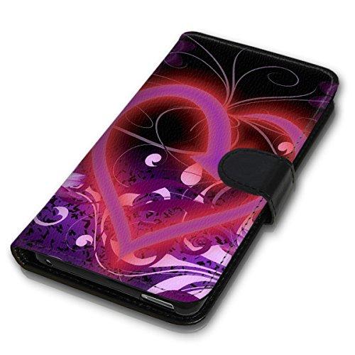 Wallet Book Style Flip Handy Tasche Case Schutz Hülle Schale Motiv Etui für Apple iPhone 5 / 5S - Variante UMV7 Design12 Design 10