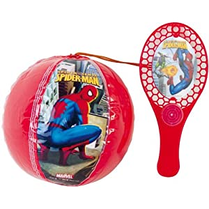 Partner Jouet - Palas de Playa Spiderman Importado de Francia