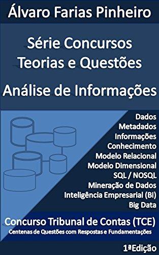 Concursos Teorias e Questões: Análise de Informações (Série Concursos Teorias e Questões Livro 1) (Portuguese Edition) por Álvaro Farias Pinheiro
