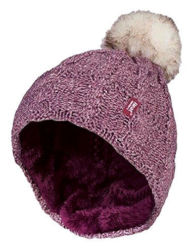 Heat Holders - Damen bunt muster winter outdoor fleece warm wintermütze / beanie...