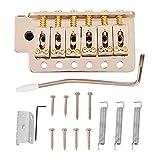 Dilwe Gitarren-Brücken-Tremolo-System zerteilt, Gitarren-Brücken-Endstück-Tremolo-Stangen-Greifer-Frühling für ST-Gitarren-Ersatz