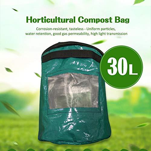Hedear Organic Fertilizer Bag,Tea Fruit Vegetable Growth Earthworm Manure Bag Fertilizer Bag Horticultural Compost Bag Earthworm Nutrient Soil Culture Bag