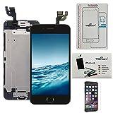 trop saint® Bildschirm Komplett Schwarz Display LCD Für iPhone 6 (4,7)