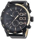 Diesel Herren-Armbanduhr XL Chronograph Quarz Leder DZ4327