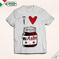t-shirt Bambina I love Nutella
