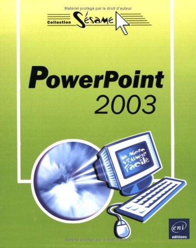 PowerPoint 2003 par Corinne Hervo