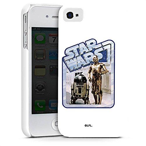 Apple iPhone X Silikon Hülle Case Schutzhülle Star Wars Merchandise Fanartikel Droids Premium Case glänzend
