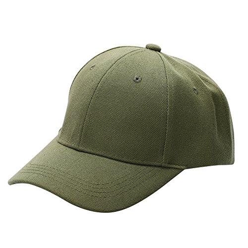 MORESAVE Uomini Donne Plain Berretto da baseball unisex curvo cappello della visiera Hip-Hop protezioni registrabili Hat Snapback ha raggiunto il picco