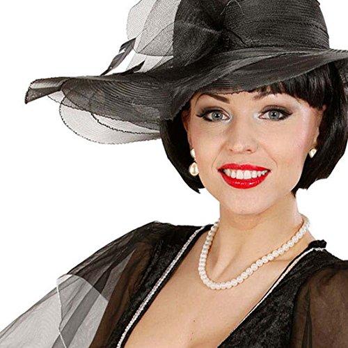 rlen Halskette und Ohrringe Hollywood Schmuckset Marilyn Kette und Ohrschmuck 20er 30er Jahre Diva Accessoires Marilyn Monroe Kostüm Zubehör (Diva Kostüme)