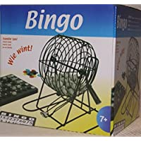 Bingo Spiel Set Metall Bingotrommel Bingo-Mühle Lotto-Trommel Tombola Auslosung
