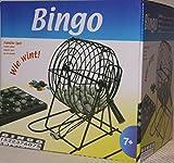 Bingo Spiel Set Metall Bingotrommel Bingo-Mühle...
