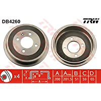 TRW Automotive AfterMarket DB4260 tambor de freno
