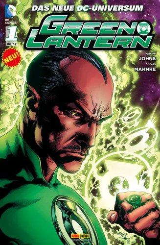 Green Lantern #1 (2012, Panini) Start der