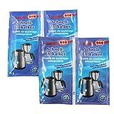 250g Orofix Bio-Entkalker Sparpack für Kaffeemaschinen & Wasserkocher - mit Zitronensäure (10 x 25g)