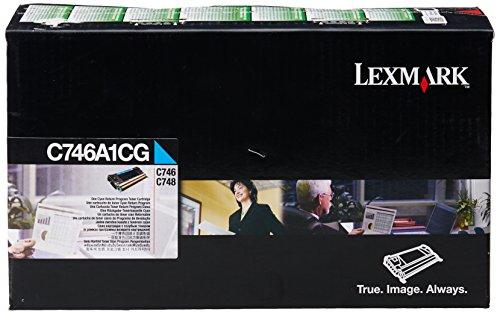 Preisvergleich Produktbild LEXMARK PB Toner C746,C748 7000 Seiten, cyan