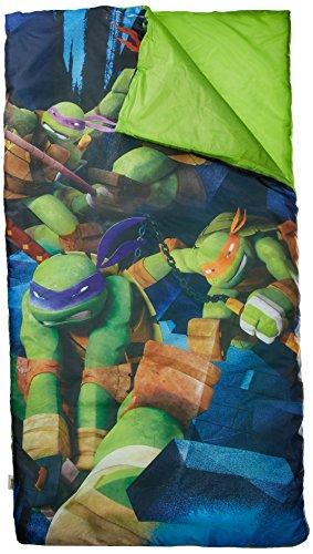 Nickelodeon TMNT Teenage Mutant Ninja Turtle Schlafsack/Slumber Sack mit Reise Kissen